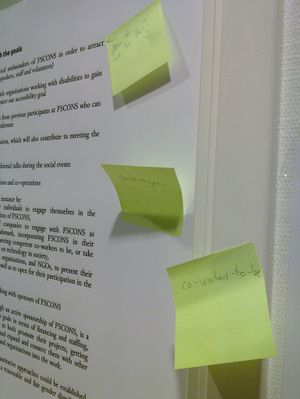 """Photo of comments to the manifesto - License: CC-BY-SA 2.0"""